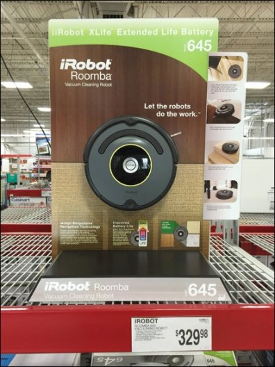 iRobot Roomba Floor Surface POP 1