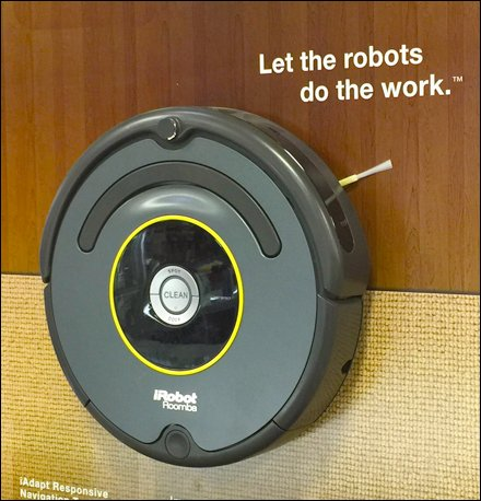 iRobot Roomba Concept Misses the Mark