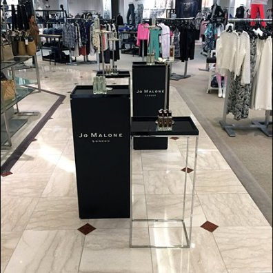Jo Malone Pedestal Branding 1