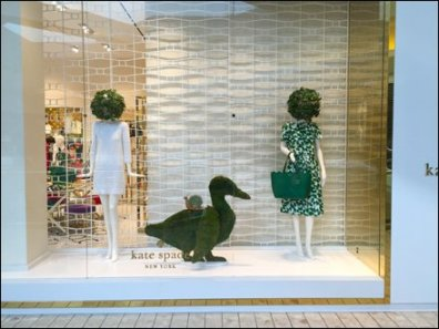 Kate Spade Duck and Snail Topiary 1