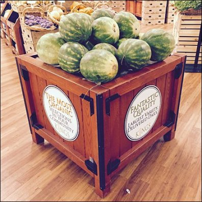 Kings Organic Watermelon Overalls