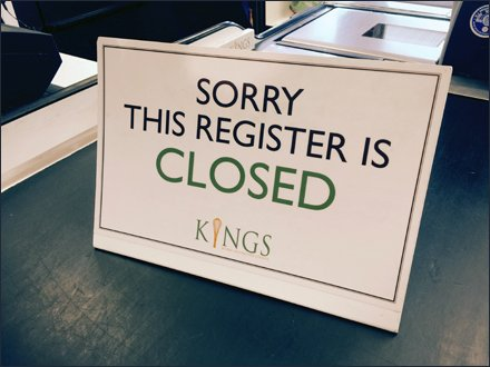 Kings Brands a Closed Register