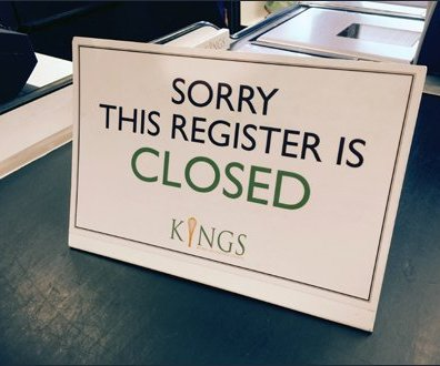 Kings This Register is Closed