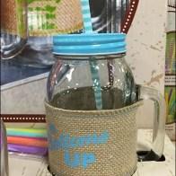Mason Jar Summer Glass set 1