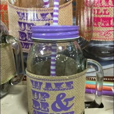Mason Jar Summer Glass set 3