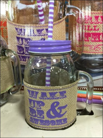 Mason Jar Summer Glass set 3