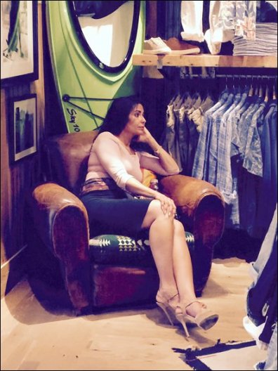 Relaxing at Ralph Lauren 1