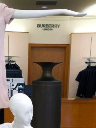 Burberry Retail Fixtures