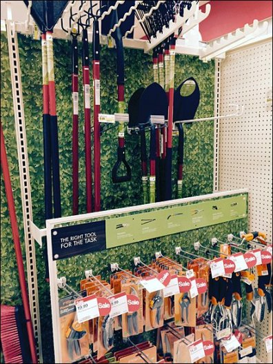 Garden Tool Extender for Pegboard