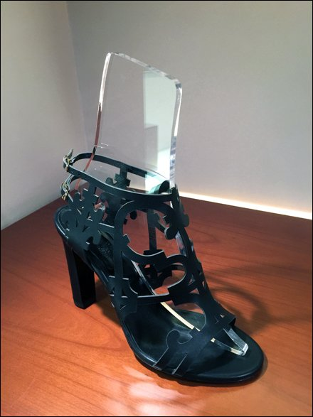 Gucci Clear Acrylic Shoe Forms