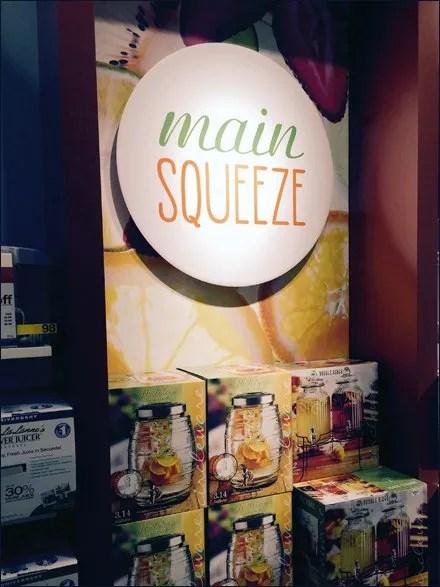 JCPenney Main Squeeze Merchandising