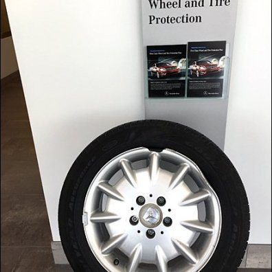 Mercedes Wheel Protection Prop