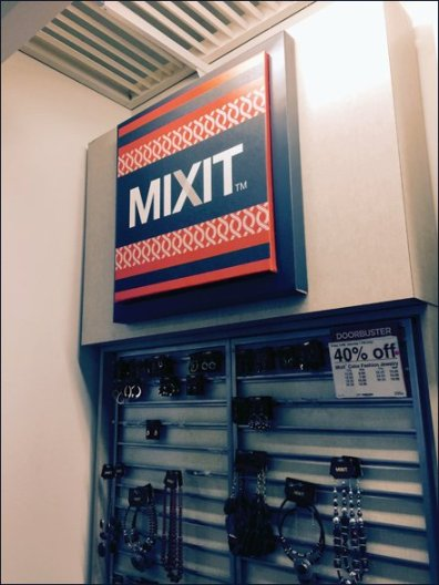 Mixit Corrugated Dimensinal Sign