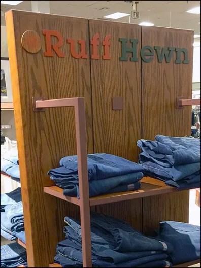Ruff Hewn Logo on Wood 3