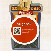 Target Gift Cards All Gone QR Code