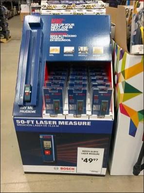 Bosch 50 ft Laser Try Me 1