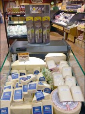Upscale Boska Cheese Grater Store Display