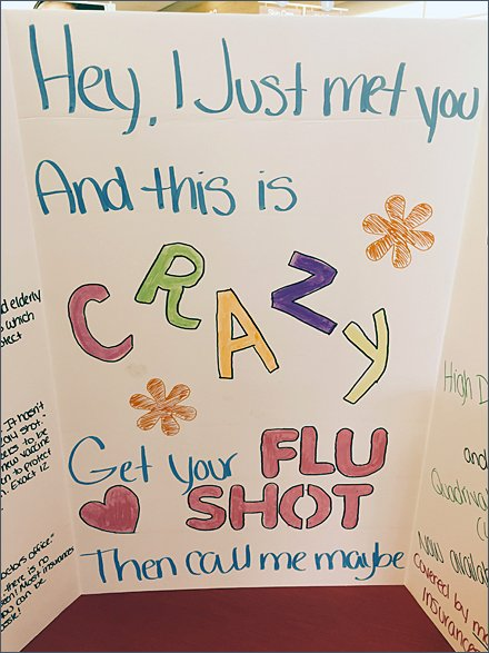 Back-To-School Flu-Shot-Flirt D.I.Y Double Gatefold