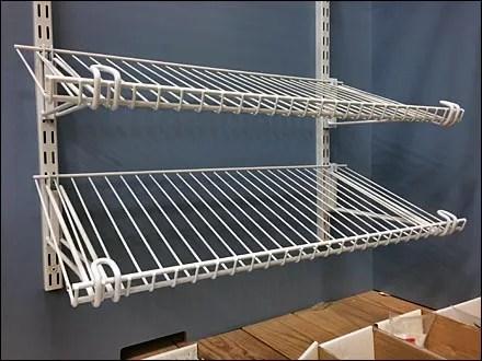 Open Wire Shelves Decline