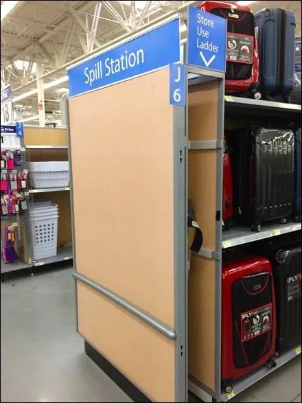 Endcap Ladder Garage Storage For Retail
