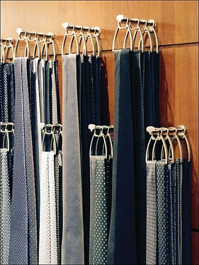 Hermes Sculptured Necktie Hooks