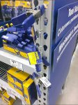 Irwin® Clamp Try-Me Merchandiser Strip