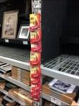 Monkey Hook Strip Merchandiser for Pallet Rack