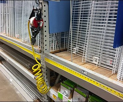 Pneumatic Cutter J-Hook for Pallet Rack 1