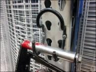 Pneumatic Cutter J-Hook for Pallet Rack 3