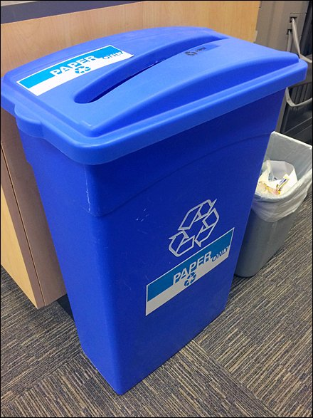 Proper Bin Sizing for Recycling