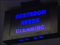 Restroom Needs Cleaning Callout