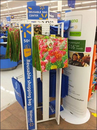 WalMart® Reusable Bag Center