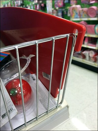 Reversable Plastic Shelf Dividers 2