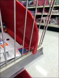 Reversable Plastic Shelf Dividers 3