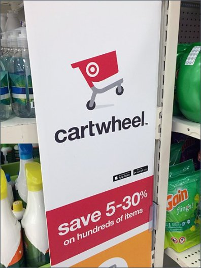 Target Cartwheel App In-Store Promo 2