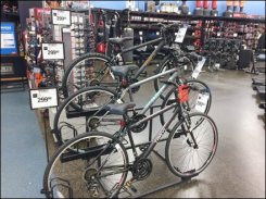 Tiered Bicycle Stand