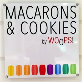 Whoops® Macaron Window Display