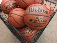 Wilson Square Basketball Bulk Bin