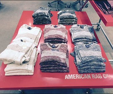 American Rag Table Top Branding 2