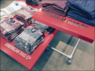 American Rag Table Top Branding 3