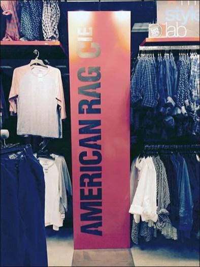 American Rag Vertical Sign Branding 3