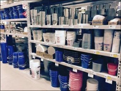 Pail-and-Bucket Merchandising Secrets