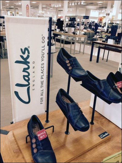 Clarks® Fabric Banner Brand Mantra