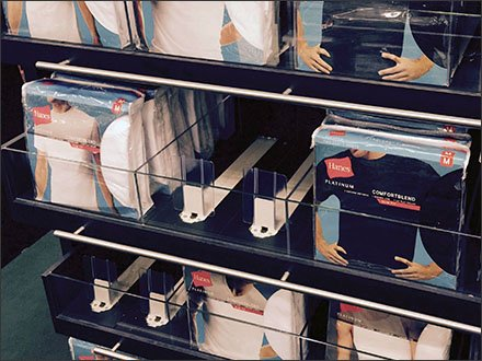 Hanes Underwear Dual-Pusher Auto Feed