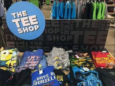 Fall Tee Shirt Shop Pop-Up
