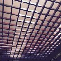 Fitting Room Pergola as Ceiling Upgrade
