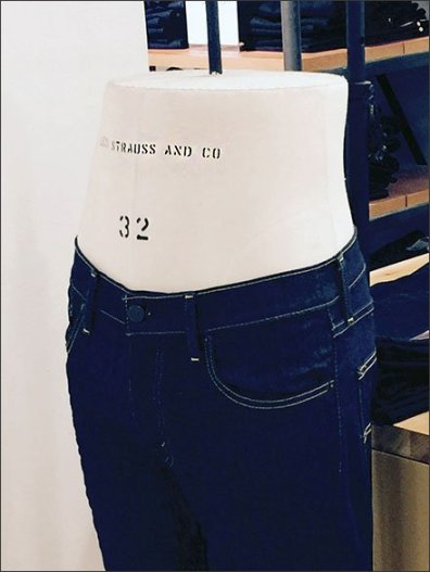 Levi's Insures Fit: Brands Own Dress Form