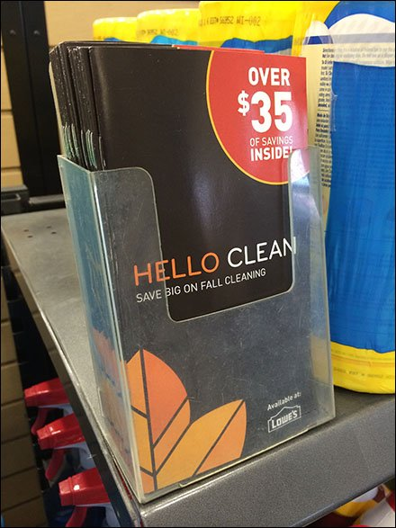 Lowes Fall In-Store Scavenger Hunt