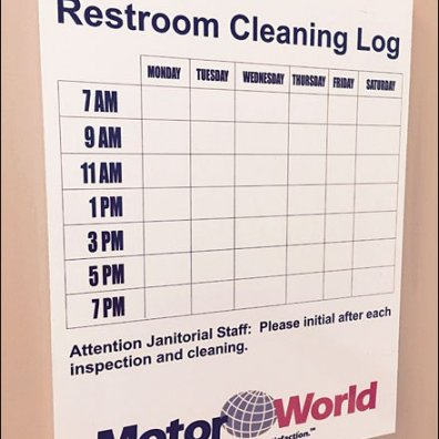 Mercedes Benz Retail Restroom Standards