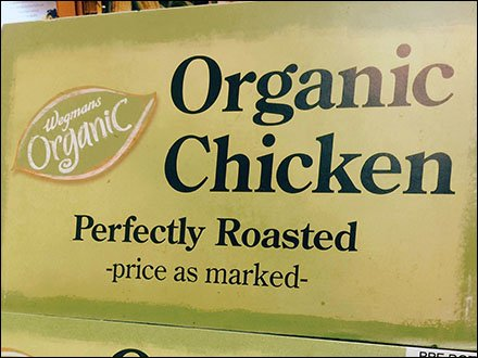 Organic Chicken Merchandising Sign 3